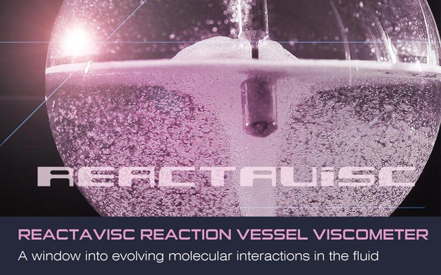 Reactavisc - A window into evolving molecular interactions in the fluid